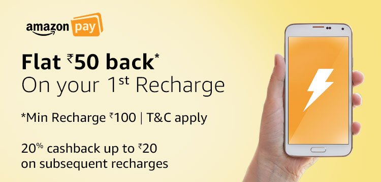 Amazon recharge offer