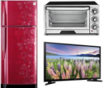 Refrigrator, TV,WM top deals