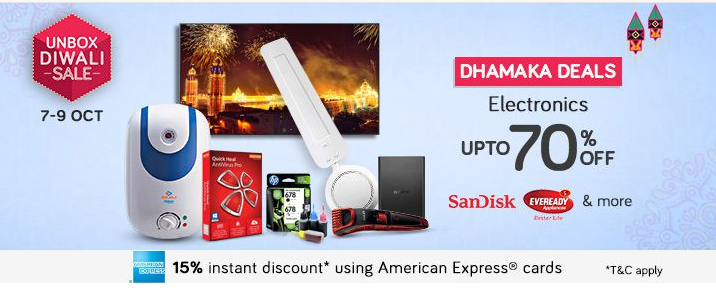 Snapdeal electronics deal