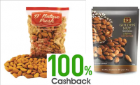 paytm 100% cashback on dry fruits
