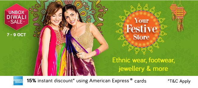 snapdeal festive store