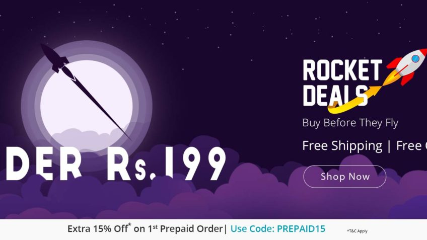 Rocket deals shopclues